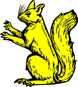 free vector Squirrel  clip art