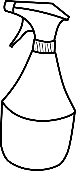 free vector Squirt Bottle clip art