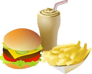 free vector Srd Fastfood Menue clip art