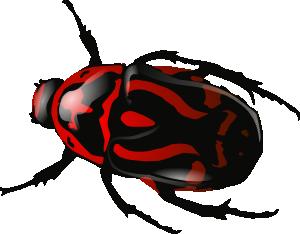 free vector Srd Green Beetle clip art