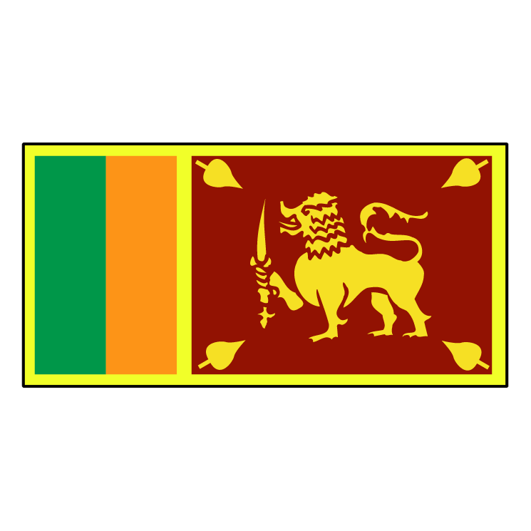 free vector Sri lanka