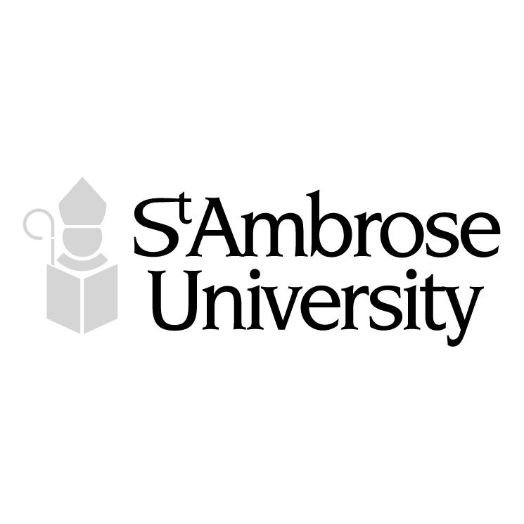 free vector St ambrose university