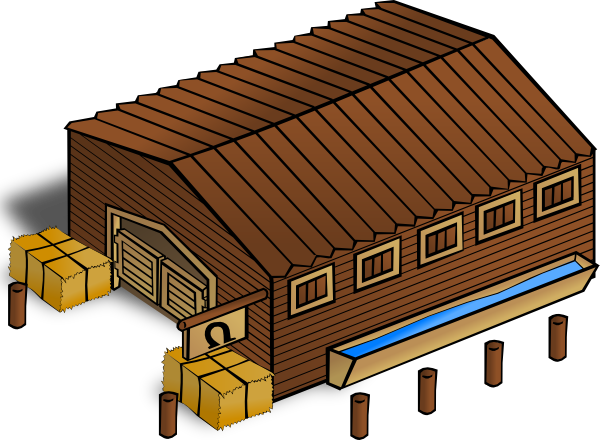free vector Stables clip art