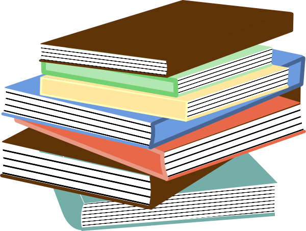 free vector Stack Of Books clip art