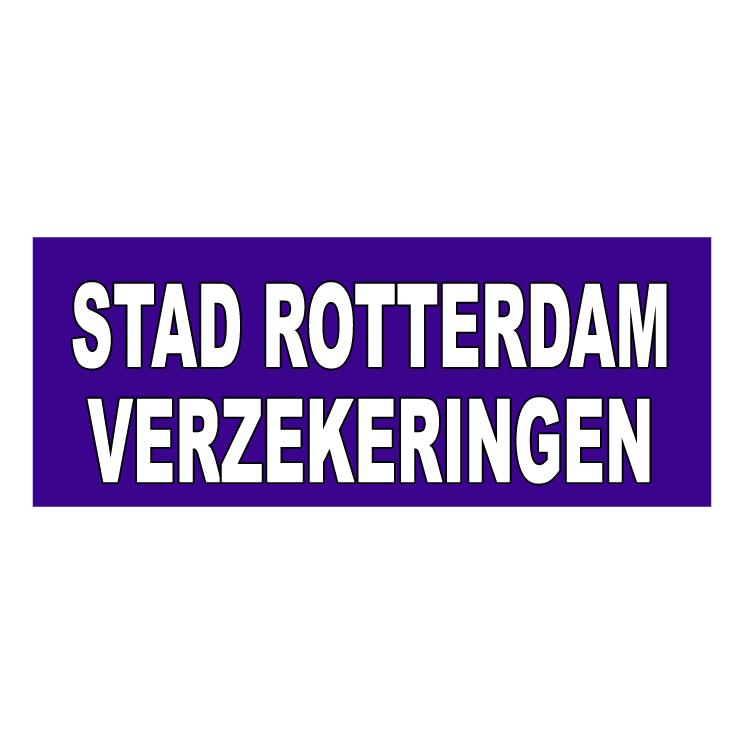 free vector Stad rotterdam verzekeringen