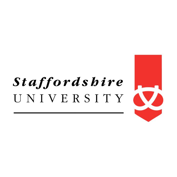 free vector Staffordshire university 1