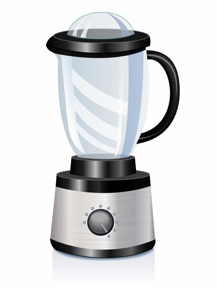 free vector Stainless steel blender