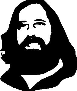 free vector Stallman clip art