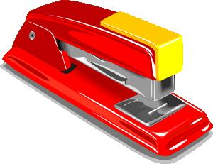 free vector Stapler clip art