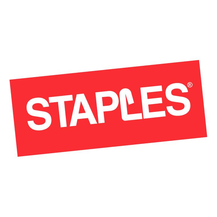 free vector Staples 1