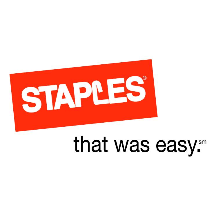free vector Staples 3