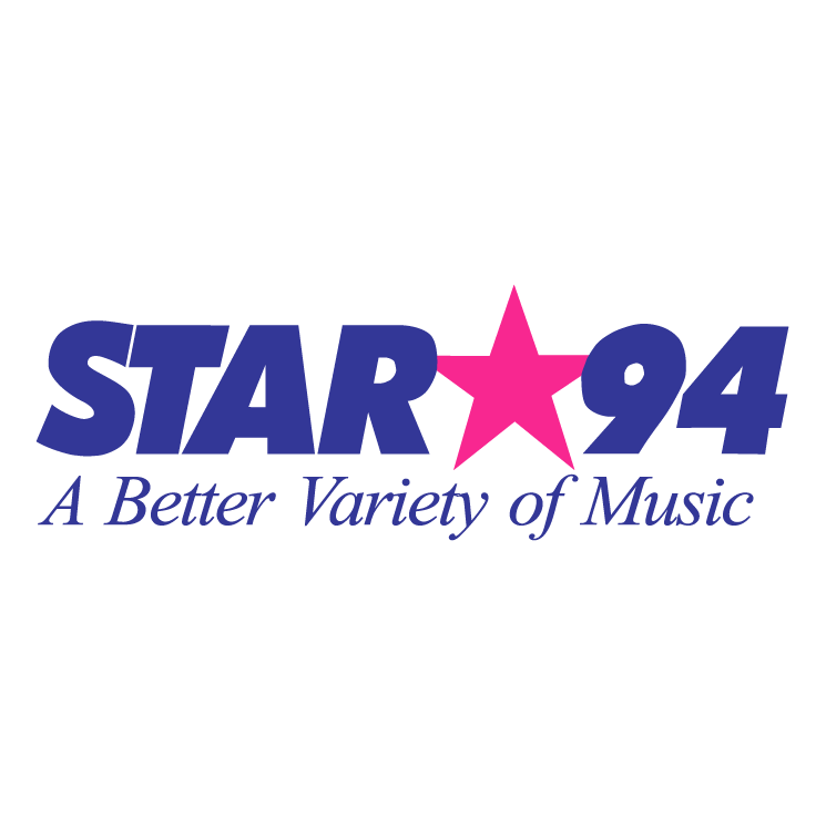 free vector Star 94 radio