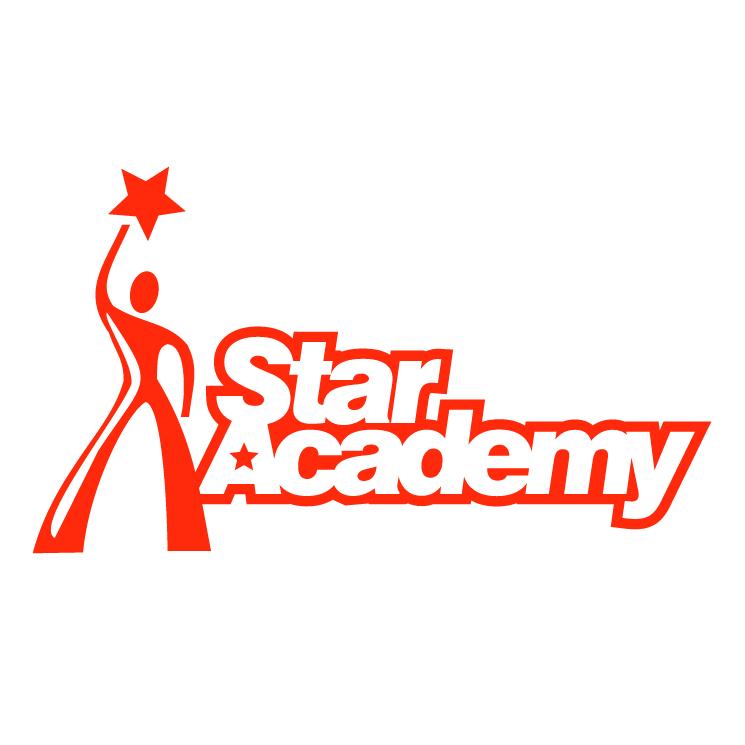 free vector Star academy