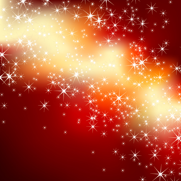 free vector Star bright radiation background 02 vector