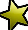free vector Star clip art