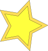 free vector Star_double clip art