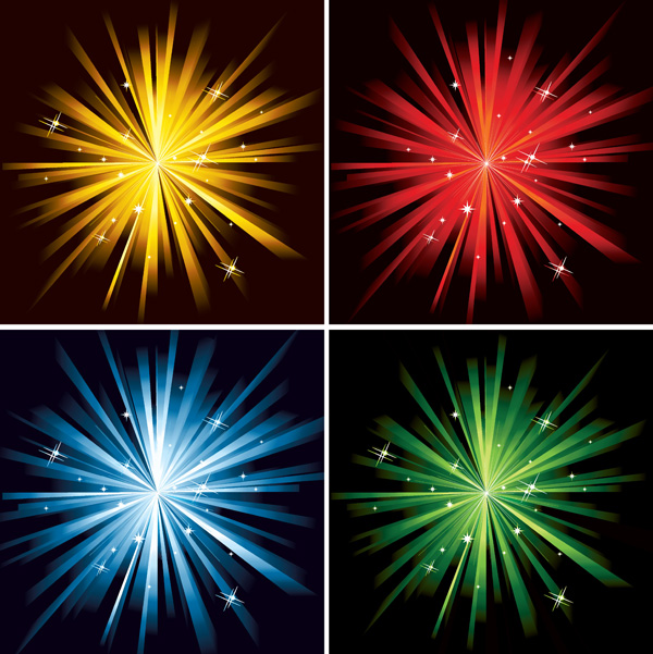 free vector Star light vector