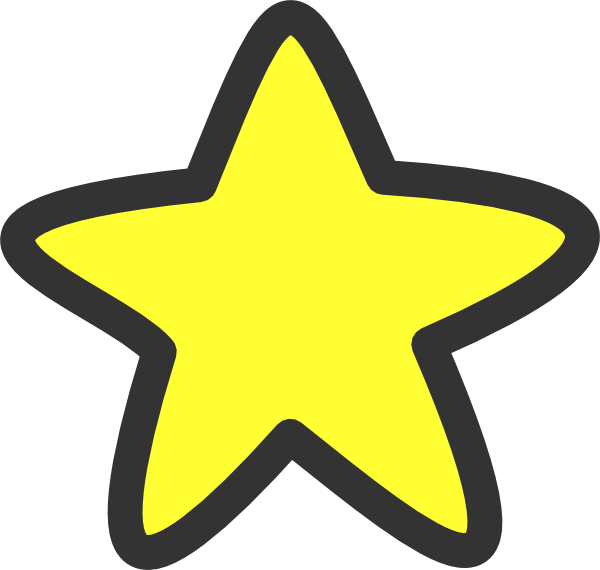 free vector Star Soft Edges clip art