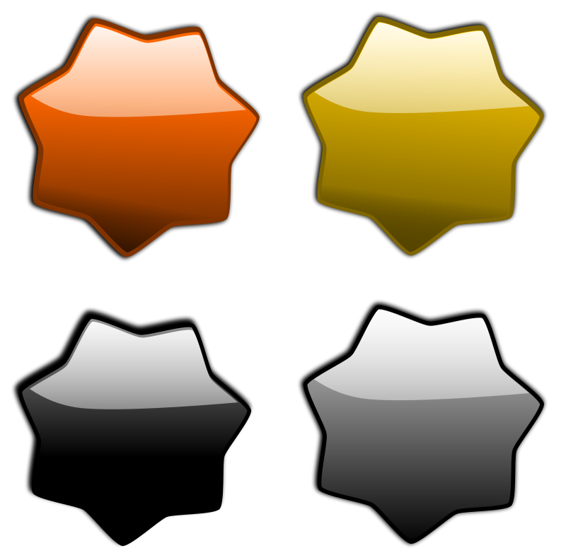 free vector Stars 2