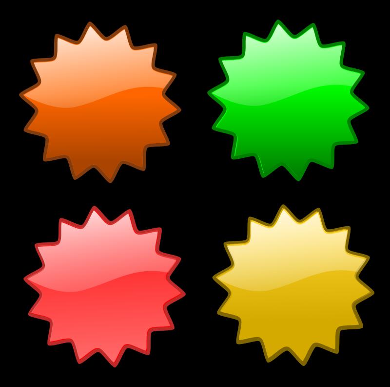 free vector Stars 5