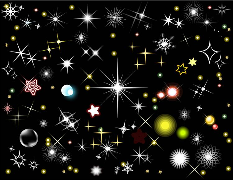 free vector Stars and Light Effects