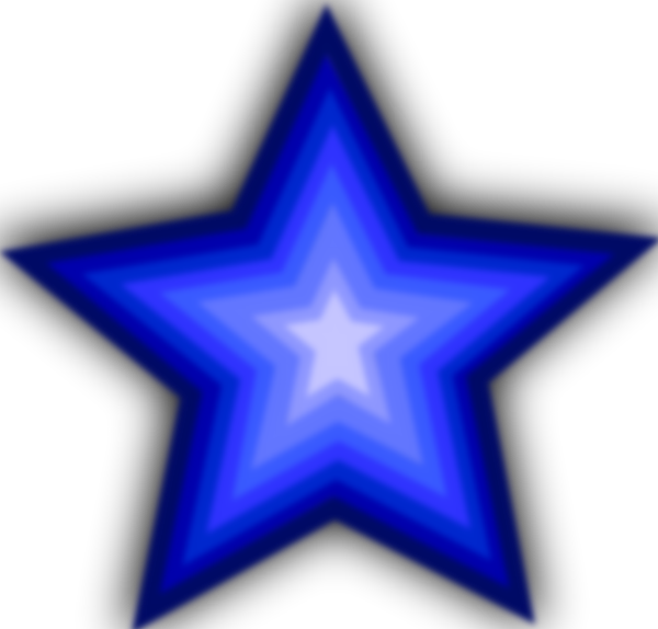 free vector Stars Simple clip art