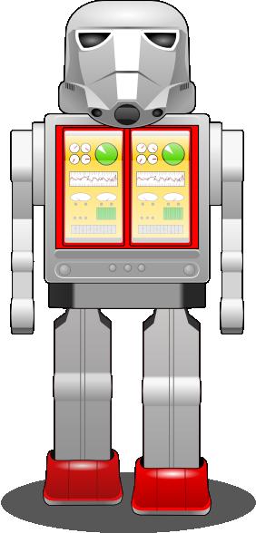 free vector Startoy War Robot clip art