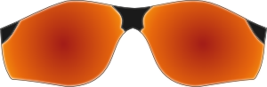 free vector Startright Sunglasses clip art