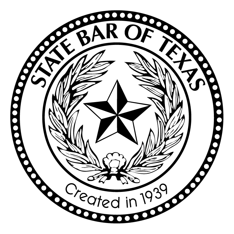 free vector State bar of texas