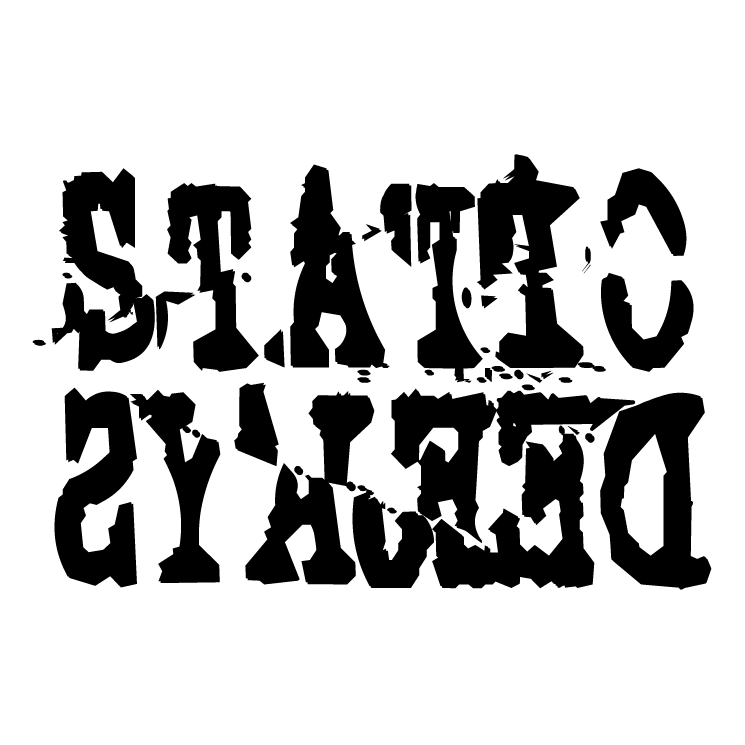 free vector Static deejays