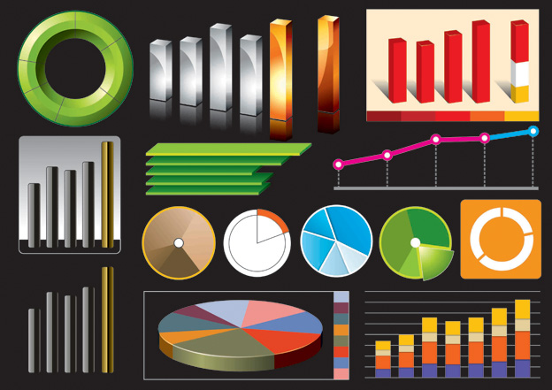 free vector Statistics theme vector