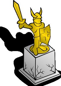 free vector Statue clip art