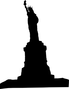 free vector Statue Liberty 1 clip art