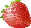 free vector Stawberry Fresh Fruit clip art