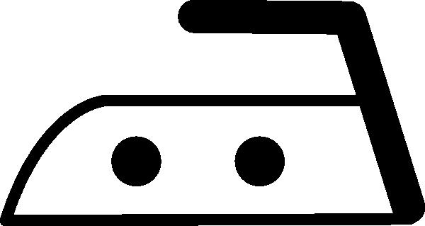 free vector Steam Iron Icon Symbol clip art