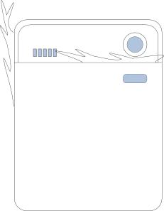 free vector Steaming Dishwasher clip art