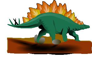 free vector Stegosaurus clip art
