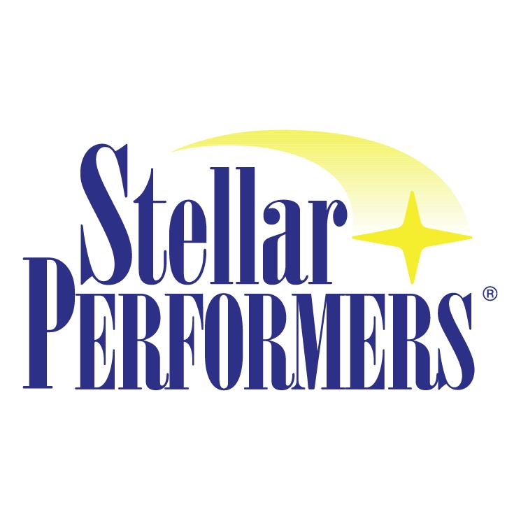 free vector Stellar performers