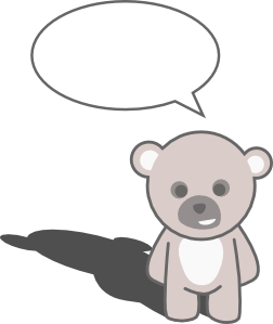 free vector Stellaris Cute Teddy Bear clip art