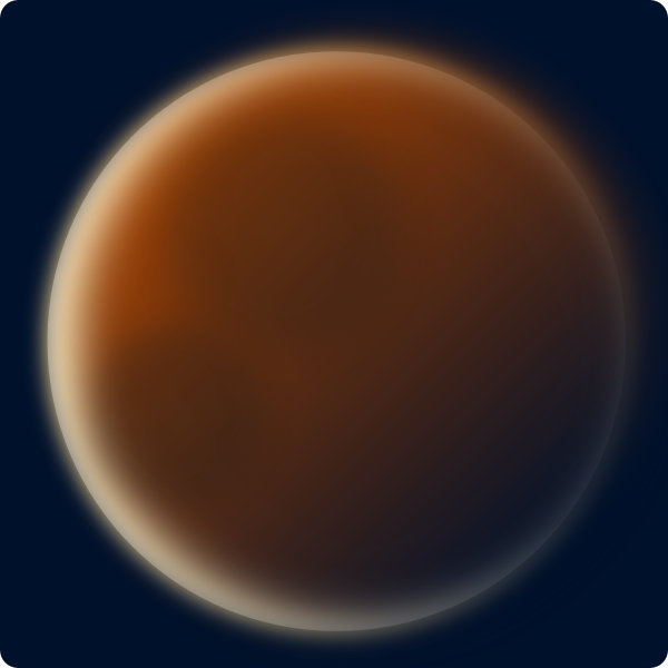 free vector Stellaris Red Planet clip art