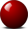 free vector Stellaris Red Snooker Ball clip art