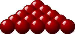 free vector Stellaris Red Snooker Balls clip art