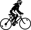 free vector Steren Bike Rider clip art