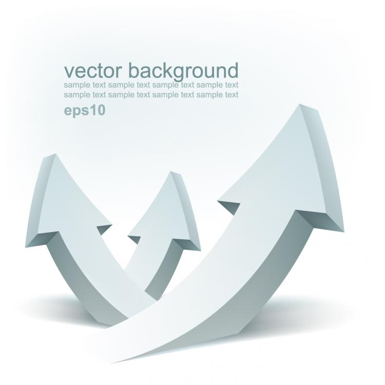 free vector Stereoscopic technology background 01 vector