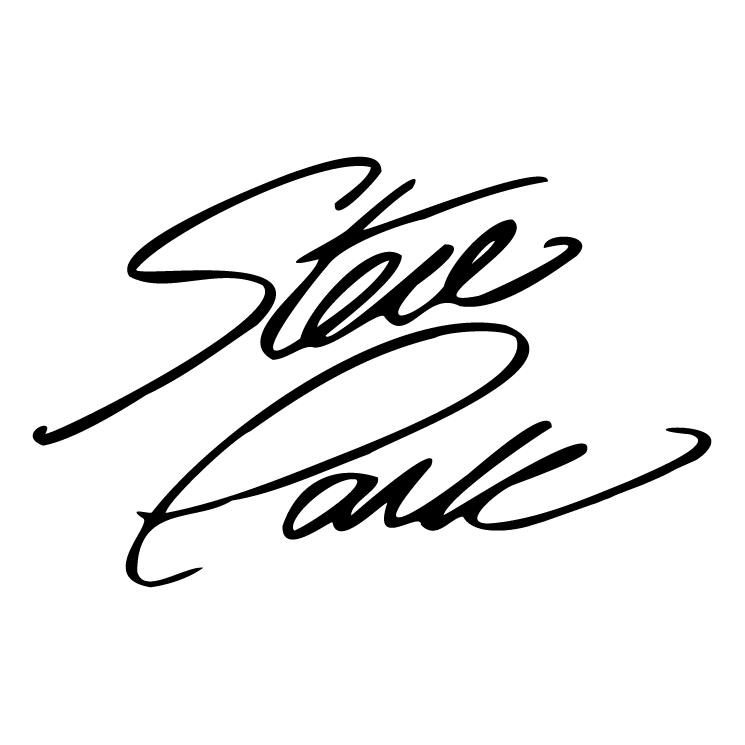 free vector Steve park signature