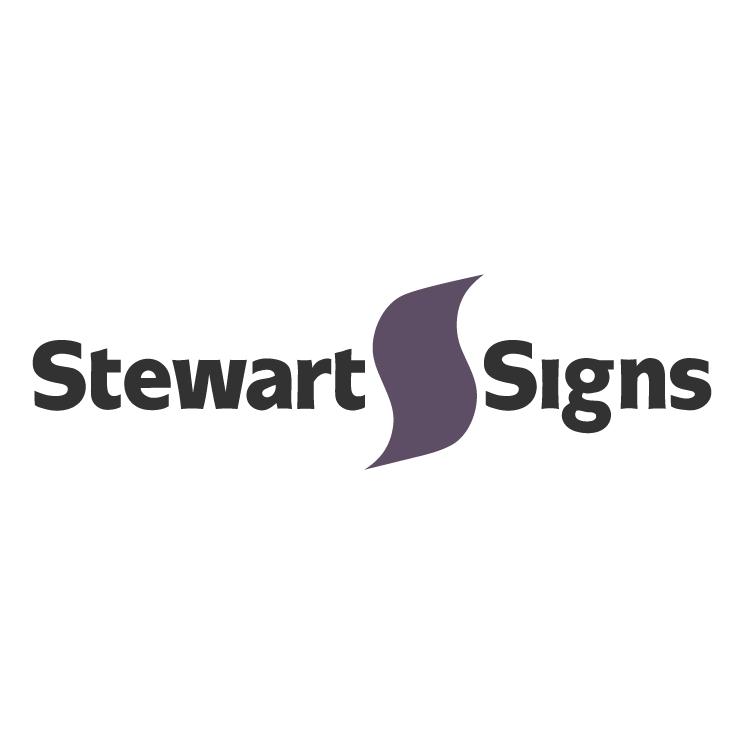 free vector Stewart signs
