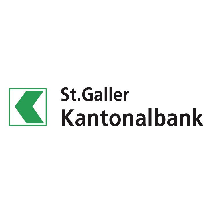free vector Stgaller kantonalbank