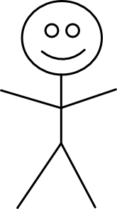 free vector Stick Figure clip art
