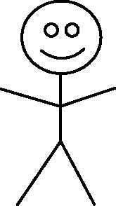 free vector Stick Figure clip art