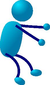free vector Stick Man clip art